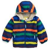 Boy's Mini Boden Hooded Anorak