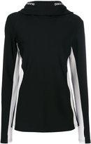 Paco Rabanne slim fit hoodie - women - Polyamide/Spandex/Elastane/Viscose - XS