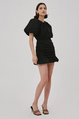C/Meo CAPTIVE SHORT SLEEVE DRESS Black
