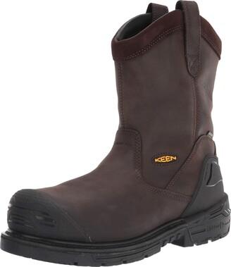 Keen Men's CSA Philadelphia Wellington Composite Toe Waterproof Puncture Resistant Work Boot Construction