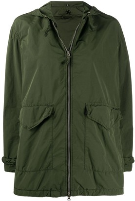 Aspesi Arancino zip up coat