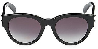 Alexander McQueen 51MM Cat Eye Sunglasses
