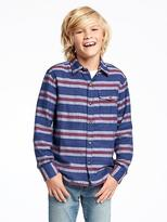 Old Navy Plaid Pocket Shirt for Boys