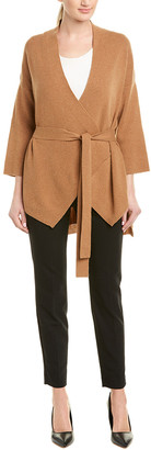 Narciso Rodriguez Sculpted Wool Cardigan