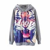 PPPerfecto Women's Sweater Sweatshirt Hoodie PullOver Jumper Vintage Autumn Winter