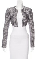 Antonio Berardi Brocade Cropped Jacket w/ Tags