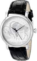 Croton Men's CN307404COSS Curren C Analog Display Swiss Quartz Black Watch