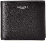 Saint Laurent Classic East/West Leather Wallet