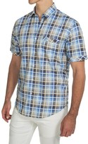 James Campbell Chimala Plaid Shirt - Short Sleeve (For Men)