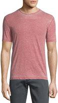 John Varvatos Burnout Short-Sleeve Crewneck T-Shirt, Brick Red
