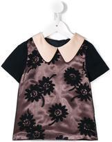 Hucklebones London floral blouse