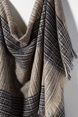 Hat Attack Layne Plaid Blanket Scarf By in Assorted