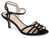 Pelle Moda Women's Alia Embellished Strappy Sandal