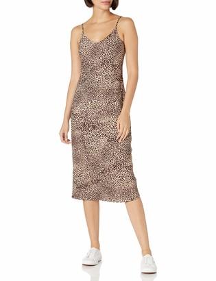 Daily Ritual Women's Standard Georgette Slip Dress