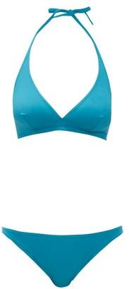 Eres Gang & Fripon Halterneck Bikini - Womens - Blue