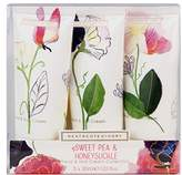 Heathcote & Ivory Sweet Pea and Honeysuckle Hand and Nail Cream Collection, 30 ml, Pack of 3