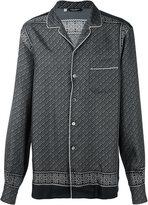 Dolce & Gabbana tile print pyjama shirt