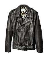 Deadwood Leroy Leather Biker Jacket