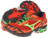 Mizuno Wave Ascend 7 (Orange.com/Classic Green/Dark Shadow) - Footwear