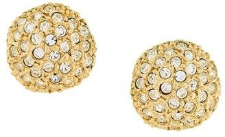 Saint Laurent Pre-Owned large stud earrings
