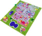 44.5'' Green Playhouse 3-D Play Mat