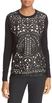 Ted Baker Anlise Lace Front Sweater