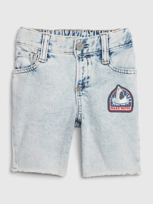 Gap Toddler Denim Tumble Shorts