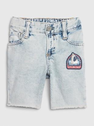 Gap Toddler Denim Tumble Shorts