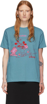 Gucci Blue Disney Edition Mickey Mouse T-Shirt