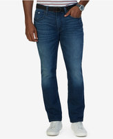 Nautica Men's Straight Fit Pure Blue Ocean Wash Jeans