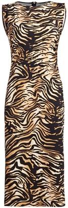 Rachel Comey Medina Tiger Sheath Dress