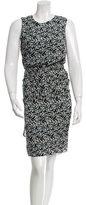 Jenni Kayne Printed Silk Midi Dress