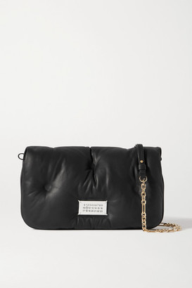 Maison Margiela Glam Slam Quilted Leather Shoulder Bag - Black