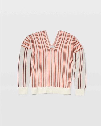 Club Monaco Birdseye Stripe Sweater