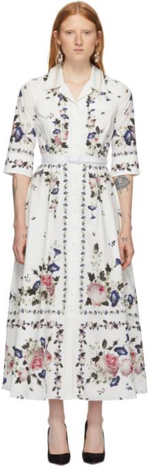 Erdem White Kasia Dress
