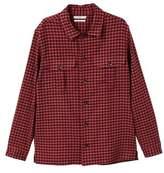 Slim-fit Check Flannel Shirt