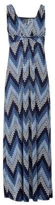 Dorothy Perkins Womens *Izabel London Multi Colour Zig Zag Print Maxi Dress