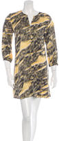 Kelly Wearstler Long Sleeve Silk Dress w/ Tags