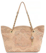 Jessica Simpson Sunny Studded Medallion-Perforated Scalloped Tote