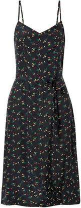 HVN Knee Length Dress