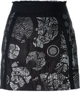 A.F.Vandevorst 'Skype' mini skirt