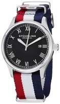 Stuhrling Original Men&s Victory Elite Canvas Watch