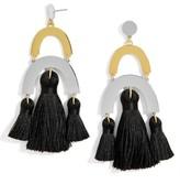 BaubleBar Women's Shamia Tassel Drop Earrings