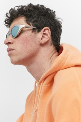 Spitfire B List Yellow Sunglasses - Silver ALL at Urban Outfitters