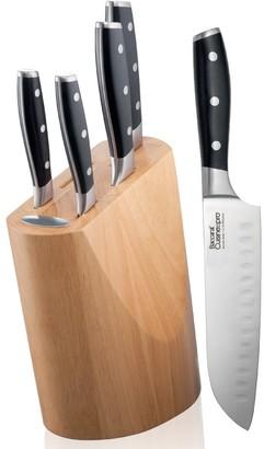 Baccarat Cuisinepro German Stainless Steel 6-Piece Knife Block
