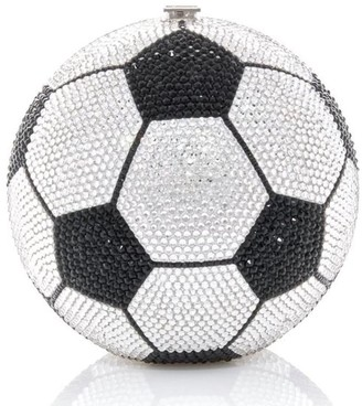Judith Leiber Soccer Ball spherical-shape clutch
