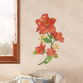 Rubie's Costume Co Hemu Wall Sticker Flowers - Wall Decals Stickers Appliques Home Decor