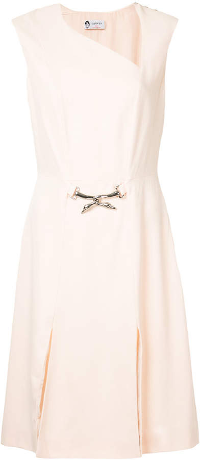 Lanvin belt dress