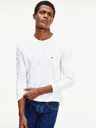 Tommy Hilfiger Slim Fit Organic Cotton Stretch T-Shirt