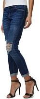 Topshop Women's 'Lucas' Ripped Boyfriend Jeans